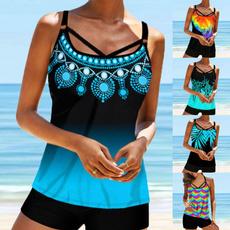 Plus Size, plus size swimdresses, women tankini, Swimwear