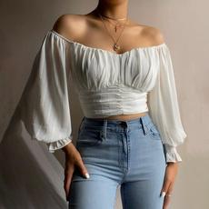 blouse, Tops & Blouses, blouse women, crop top