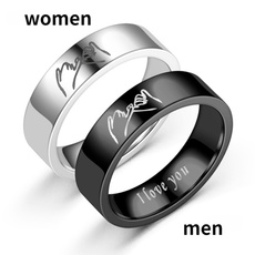 Couple Rings, Valentines Gifts, Fashion, Love