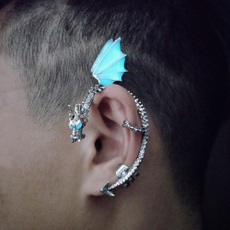 Jewelry, dragonshape, Men, Luminous