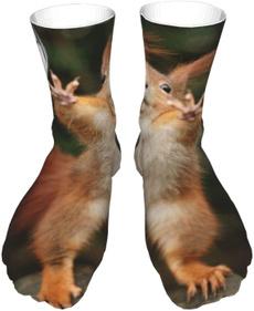 Funny, animal print, Cotton Socks, socksmen