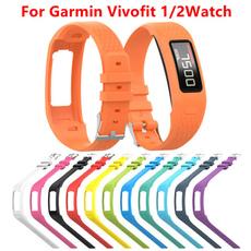 garminvivofit2, garminwristwatch, siliconewatchband, Silicone