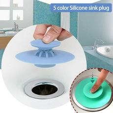 Bathroom, bathtub, siliconedrainplug, Home & Living