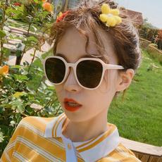 retro sunglasses, Fashion Sunglasses, personalityeyeglasse, beigesunglasse
