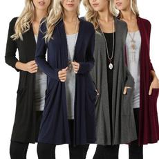 cardigan, cardigan for women, Sleeve, Long Coat