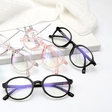 retroeyeglasse, plainmirrorglasse, Fashion, art