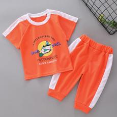 Boy, Shorts, Sleeve, Summer
