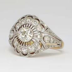 Fashion, wedding ring, europeanandamericanstyle, ladiesring