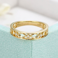 Jewelry, gold, retro ring, Engagement Ring