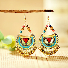 earrings in spanish, Fashion, Bell, bohemianstyle