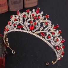 retroround, Queen, crown, Rhinestone