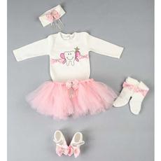 pink, cute, Baby Girl, babyset