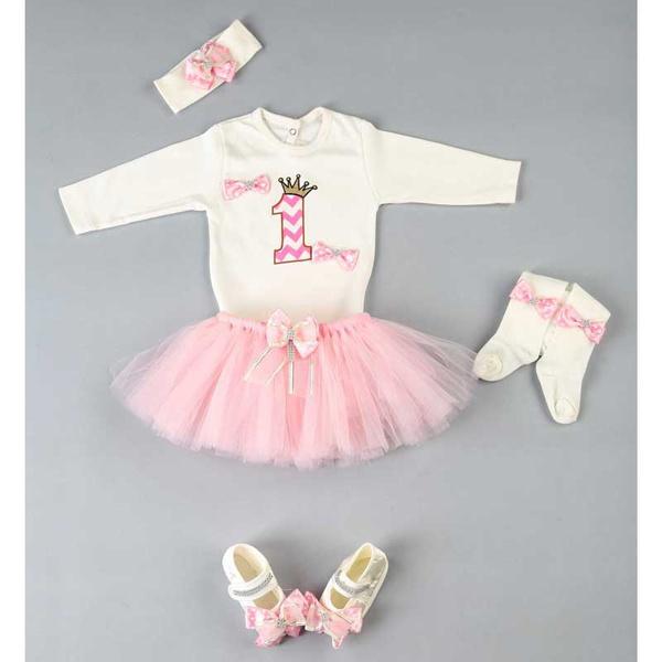 pink, Baby Girl, babyset, babyromper