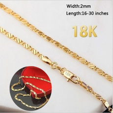 White Gold, Fashion, gold, necklace for women