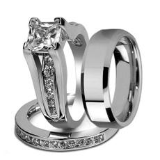 Couple Rings, Steel, coupleringsred, wedding ring