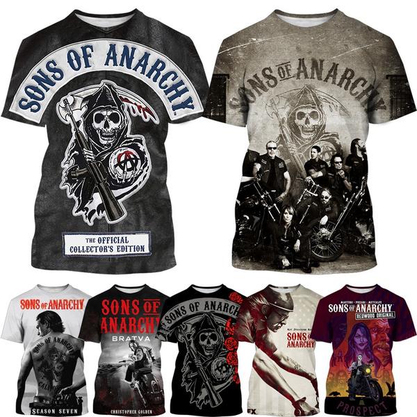 Summer, Fashion, Man Shirts, sonsofanarchytshirt