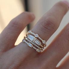 DIAMOND, gold, 18k gold ring, Elegant