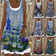 Summer, Plus Size, Dress, coverupdre
