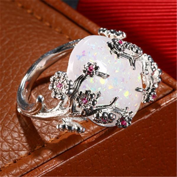 Sterling, Flowers, 925 sterling silver, wedding ring