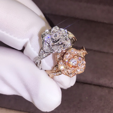 Sterling, ringforwomensilver, wedding ring, gold