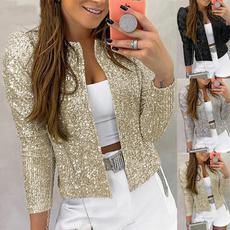 blazerjacket, Fashion, Long Sleeve, BlazerWomen