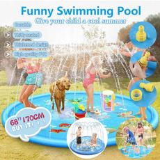 Summer, Toy, swimmingpoolspraypad, Children's Toys