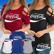 Summer, Fashion, Cotton T Shirt, printed