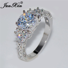 White Gold, Beautiful Ring, DIAMOND, Gifts