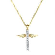 18kgnecklace, angelnecklace, Jewelry, Angel