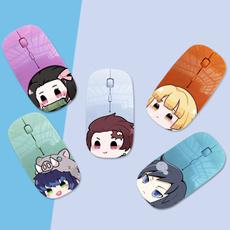 animedemonslayermerch, silentmousewireles, usb, cute