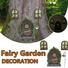 gardengnome, Outdoor, Door, Garden