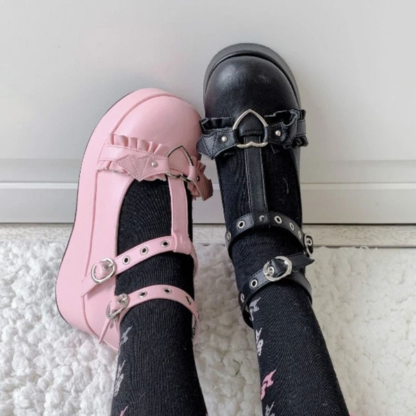 maryjaneshoe, cute, Goth, shoesforgirl