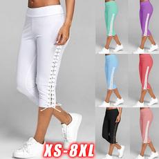 Summer, Leggings, Plus Size, sport pants
