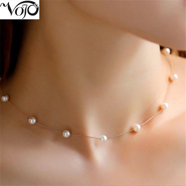 Fashion, Jewelry, Chain, pearls