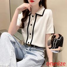 summerwear, lapel, Collar, Fashion