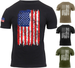 Summer, Printed T Shirts, Slim T-shirt, Sleeve