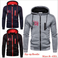 Casual Hoodie, hooded, mensziphoodie, Zip