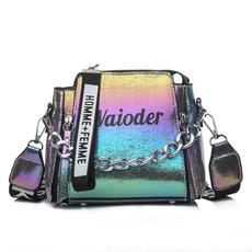 Shoulder Bags, minicrossbodybag, Chain, doublelayer