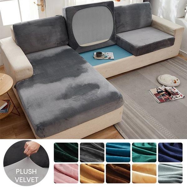 velvet, Elastic, Home & Living, armchair