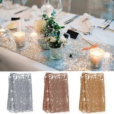 party, goldtablerunner, Jewelry, gold