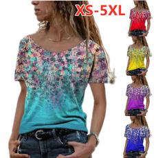 blouse, camisetasmujer, Plus Size, Shirt