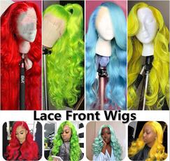 wig, pink, premiumlacewig, lacefronthumanhairwig