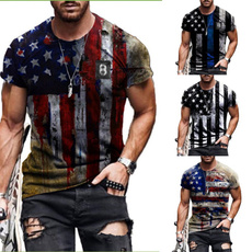 Mens T Shirt, Shorts, Star, Shirt