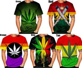 Summer, trending, 3dmentshirt, weedsleaftshirt