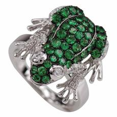 animalring, emeraldring, Silver Ring, Diamond Ring