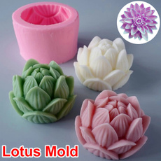 Flowers, diycandle, Silicone, Soap