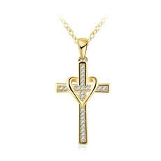 Love, Jewelry, Cross Pendant, Classics