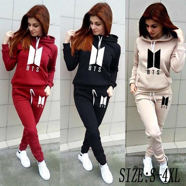 printedtracksuit, Plus Size, pullover hoodie, pants
