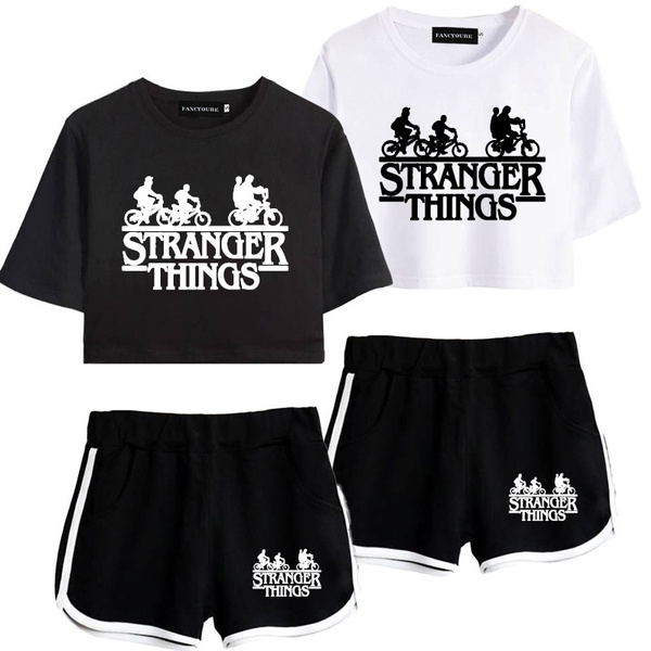 2pieceset, Shorts, women beachwear, SEXY CROP TOP