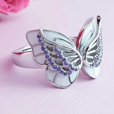 butterfly, Sterling, Fashion, Jewelry